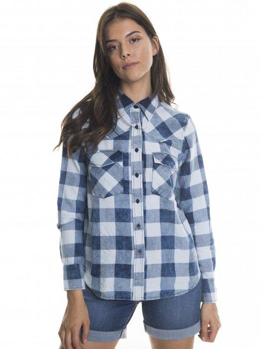 4b5e777c Koszule damskie - luźne koszule w kratę, eleganckie, jeansowe | BIG STAR